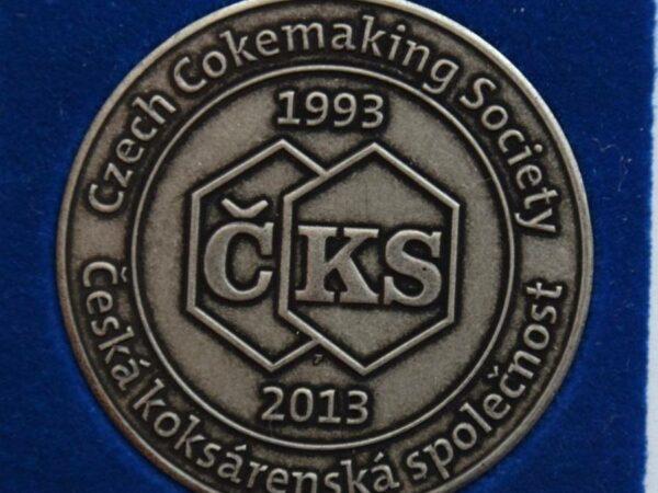 Pamětní mince ke 20. výročí ČKS